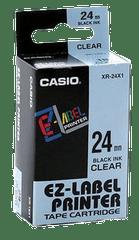 CASIO | Label Tape | 24mm | Black | XR-24X1-W-DJ1