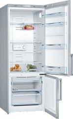 BOSCH | Free Standing Fridge Freezer | 84 Kg | Stainless Steel | 385 Liters | KGN57VL20M