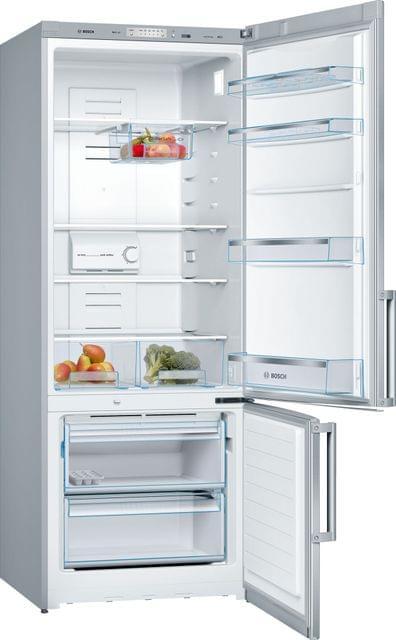 BOSCH   Free Standing Fridge Freezer   84 Kg   Stainless Steel   385 Liters   KGN57VL20M