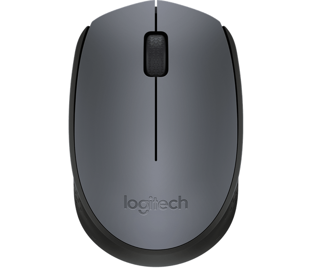 Logitech | Wireless Mouse | USB Receiver | Grey | M170