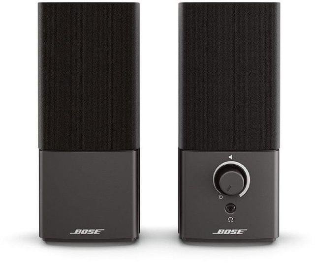 BOSE | Companion III Multimedia Speakers | 10 Watts | Black | 354495-5100