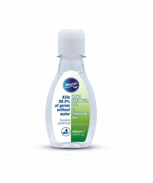 MISS LIFE | Hand sanitizer | Alcohol 75 % | Gel | 100ml