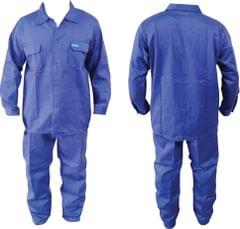 Work Wear | Without reflective | Washable | 210 GSM | Pure Cotton | Blue