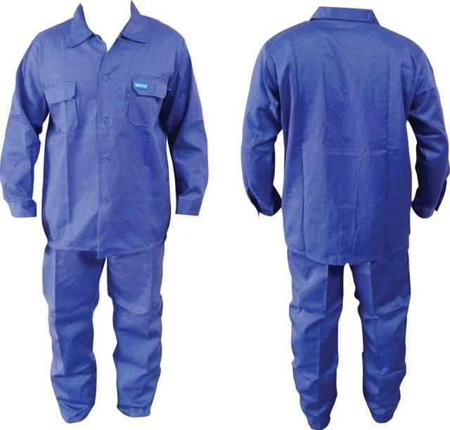Work Wear   Without reflective   Washable   210 GSM   Pure Cotton   Blue