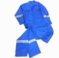 Work Wear | Reflective | Washable | 210 GSM | Pure Cotton | Blue
