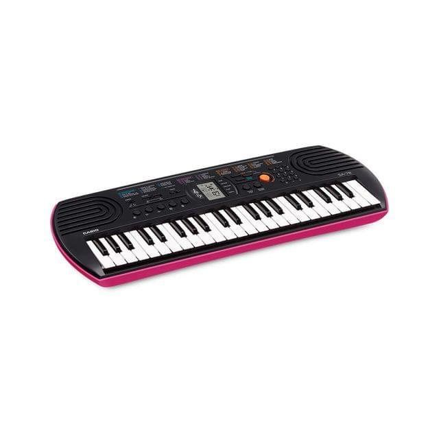 CASIO | Musical Keyboard Compact | 0.8W | 44 Mini Keys | 1.4kg | SA-78AH2