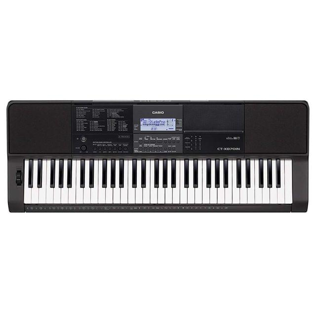 CASIO | Digital Portable Indian Keyboard | 7.5W | 61 Keys | 4.4kg | CTX 870