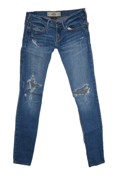 JEANS TONED  TORNR BACK STYLE