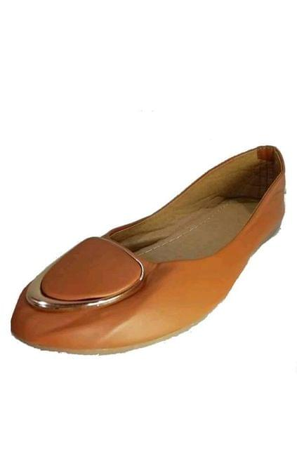 BELLY SHOE BROWN