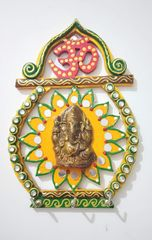 HabereIndia Om Key Chain Holder