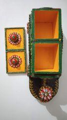 HabereIndia Small Train Dry Fruits Box