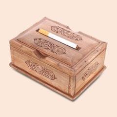 Classy cigarette box/ Cigarette storage box/ Kashmiri wooden box: