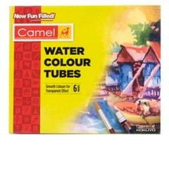 Camel Water Colour Tubes 5ml 6 Shades