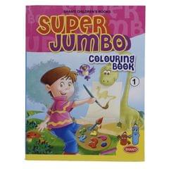 Super Jumbo Colouring  Book -1