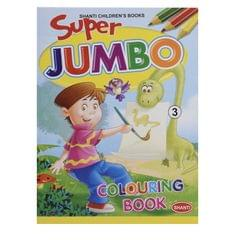 Super Jumbo Colouring  Book -3