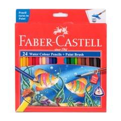 Faber Castell Water Colourpencils 24 Shades