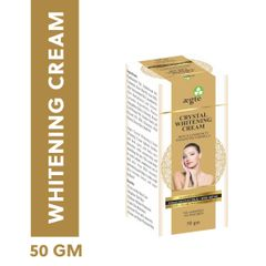 Aegte Crystal Whitening Cream Skin Illuminosity Enhancing Formula Natural SPF 20+++ Day Care Cream-50 mg