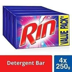 RIN - BIG BAR - 250 Gms - Pack of 4