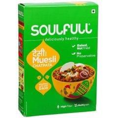 SOULFULL - CHATPATTA MUESLI - 400 Gms