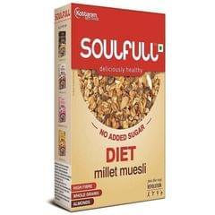 SOULFULL - DIET MILLET MUESLI - 400 Gms