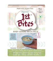 PRISTINE - 1st BITES - BABY CEREAL WITH MILK - RICE - 300 Gms