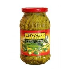MOTHERS - GREEN CHILLI  PICKLE - 300 Gms