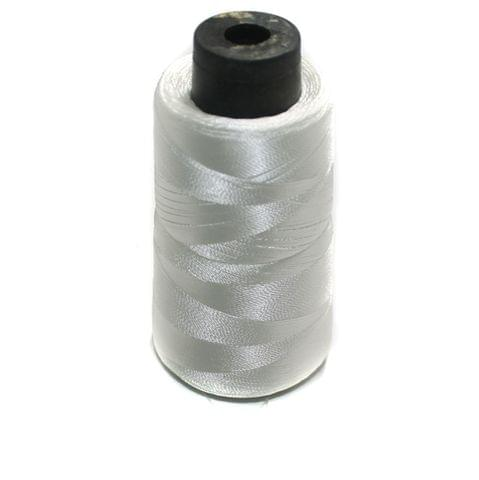 3 Ply Satin Thread Large Spool White 1 Pcs