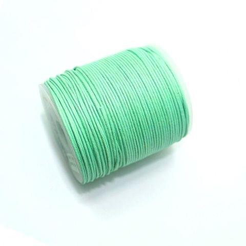100 Mtrs. Jewellery Making Cotton Cord Mint Green 1mm