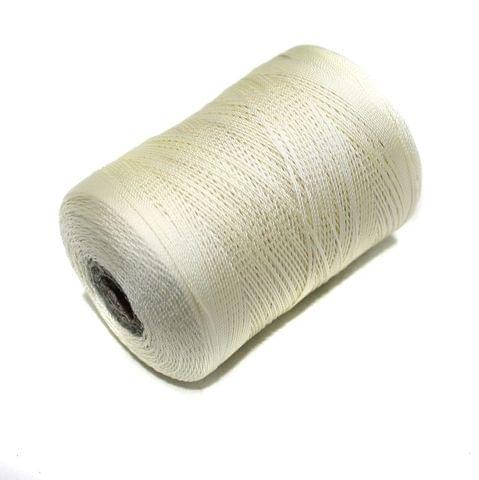 5000 Mtr Satin Cotton Thread 0.40mm Cream