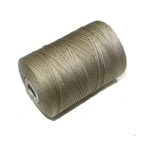5000 Mtr Satin Cotton Thread 0.40mm Light Khaki