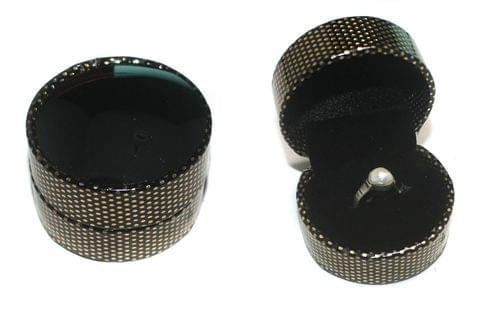 Round Elegant Finger Ring Box 1 Pcs