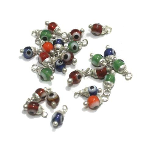 Evil Eye  5mm 100 Pcs