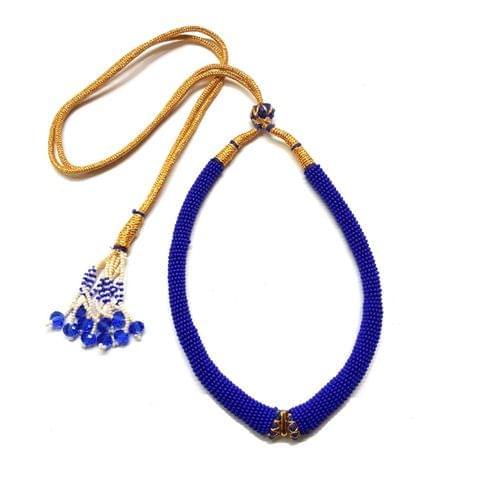 2 Pcs, Blue Hasli Sarafa Dori, 5 inch