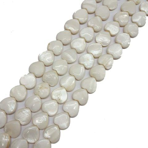 14mm, 2 strands, Mother Of Pearls Shell, 16 inches, 28+ Beads In Each Strand