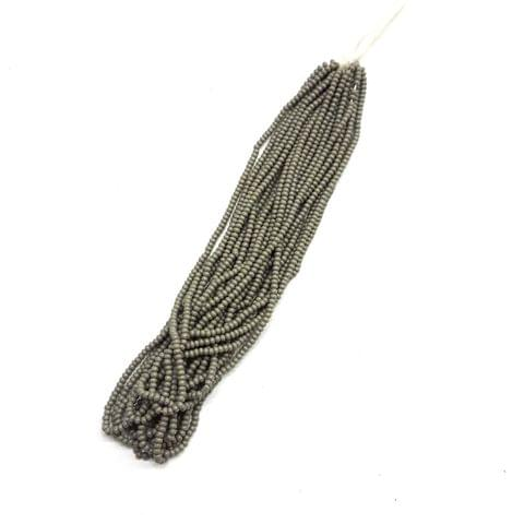 24 Bunches, (1 bunch = 12 lines), 1mm Seed Beads For Jewelry Making (Cheed)