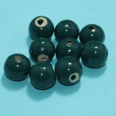 38 Pcs Ceramic Beads Assorted 14x15 mm