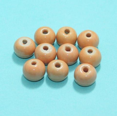 44 Pcs Ceramic Beads Assorted 11x14 mm