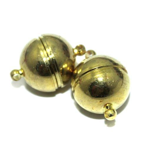 5 Pcs Magnetic Clasps Golden, Size 22x16mm