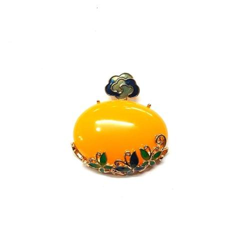 Yellow Color Pendants, Pendant - 2 inches