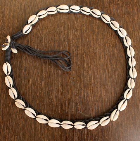 Cotton Cord Shell Cowrie Beads Belt