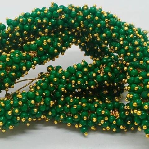 Green Glass Loreal Beads 3mm