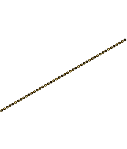 92.5 Sterling Silver 1.25mm Ball Chain - 100 cms