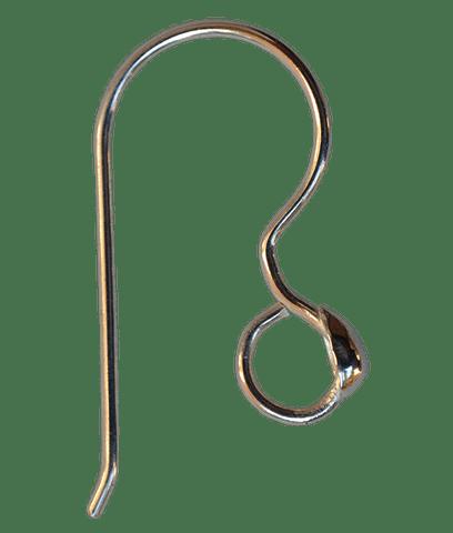 92.5 Sterling Silver Embossed Ear wire