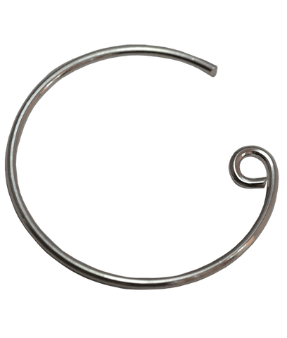 92.5 Sterling Silver Round Earwire