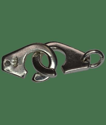 92.5 Sterling Silver Handcuff Closing