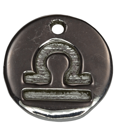 92.5 Sterling Silver LIBRA Charm
