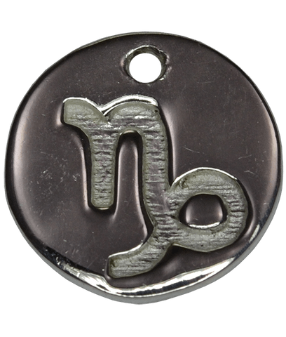 92.5 Sterling Silver CAPRICORN Charm