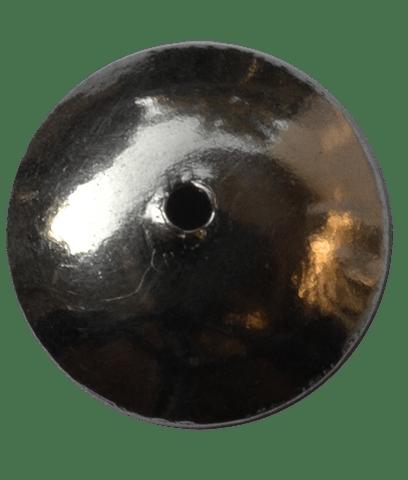 92.5 Sterling Silver Plain Cap-10mm