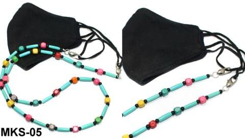Beaded Designer Mask Chain Dori