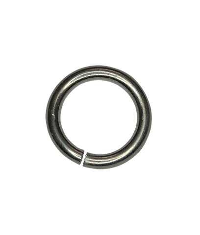 92.5 Sterling Silver 5x0.8mm Open Jump Ring